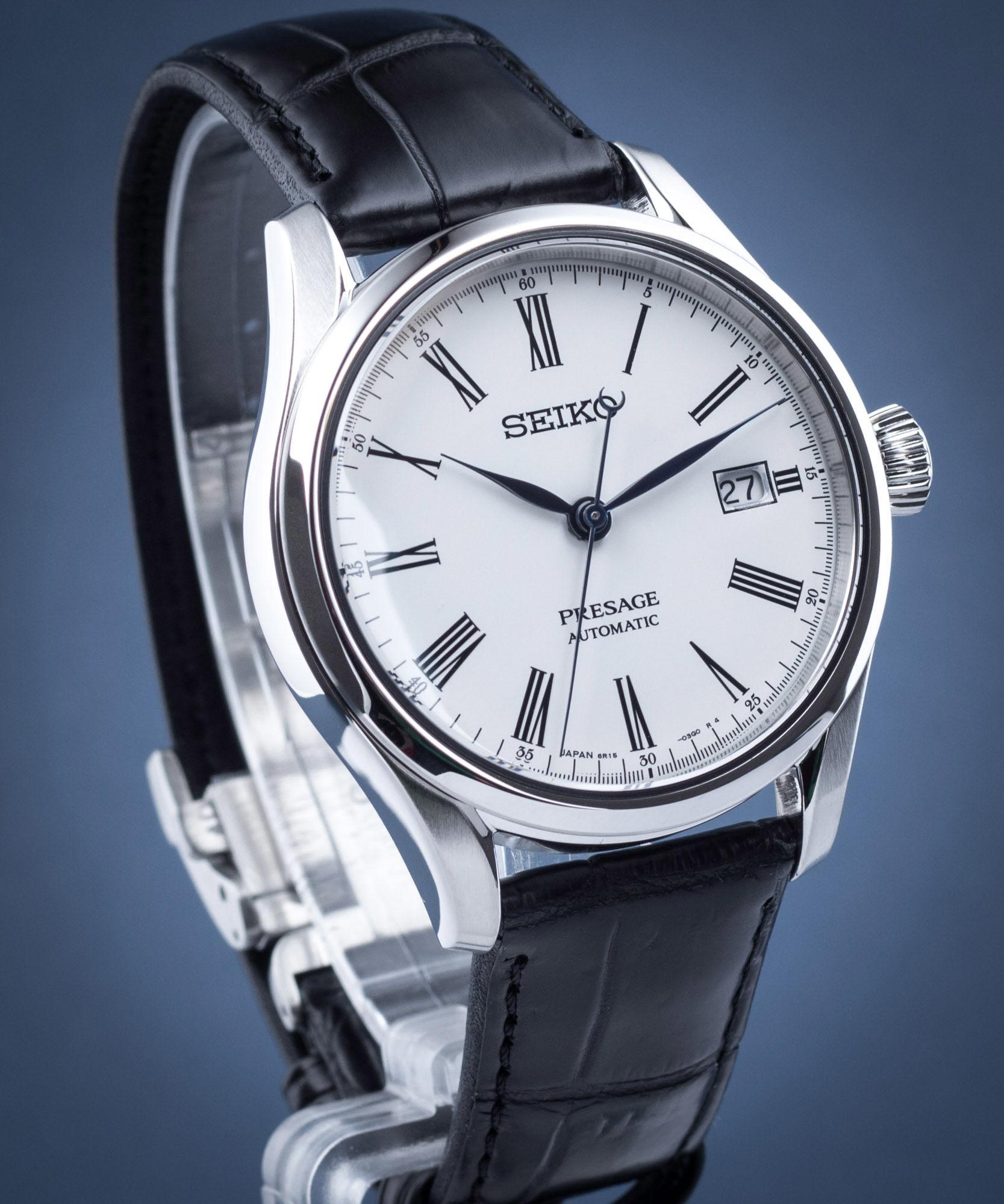 Zegarek męski Seiko Presage Enamel Automatic