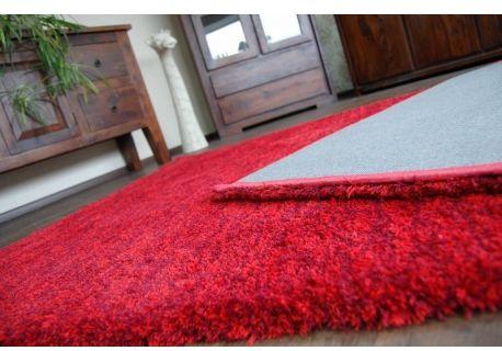 Dywan SHAGGY HARMONY czerwień 60x110 cm