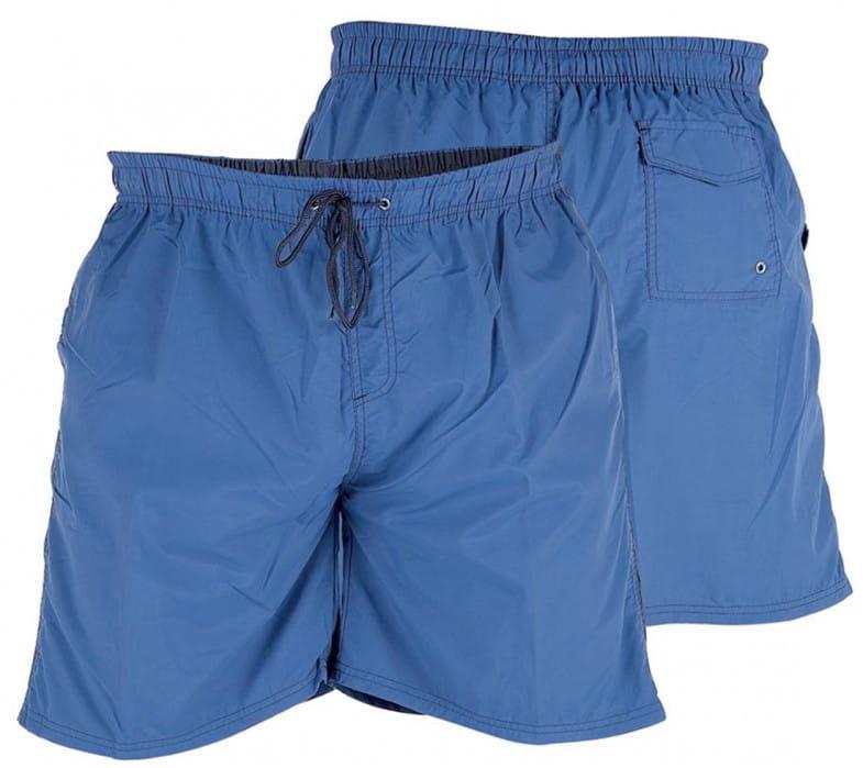 YARROW-D555 Duże Szorty Kąpielowe Niebieskie