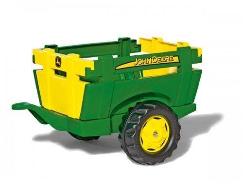 Rolly Toys John Deere Przyczepka rollyTrailer FarmOtwierane Burty