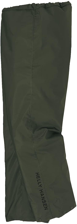 Helly Hansen spodnie 70429 100% spodnie przeciwdeszczowe wodoodporne Oliwkowo-zielony M