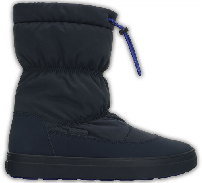Śniegowce damskie CROCS Lodgepoint Pull-On Boot granatowe203422410