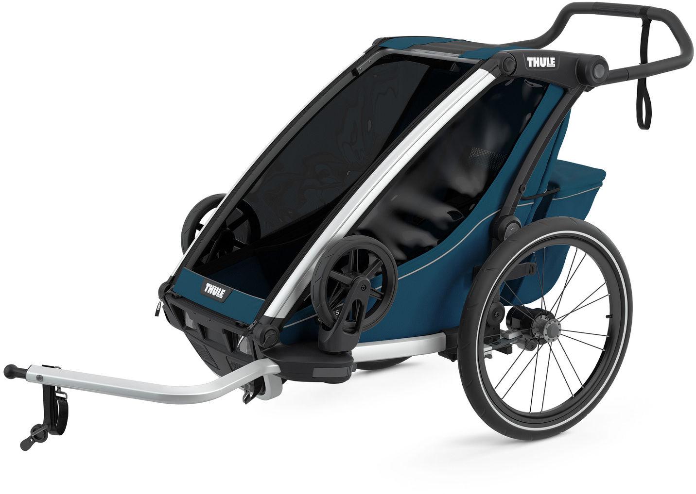 Thule Chariot Cross1 przyczepka rowerowa MajolicaBlue - ciemny ni