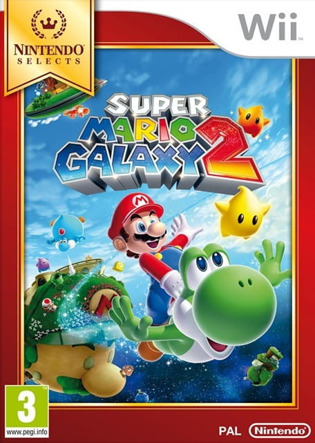 Gra Super Mario Galaxy 2 Selects (Nintendo Wii)