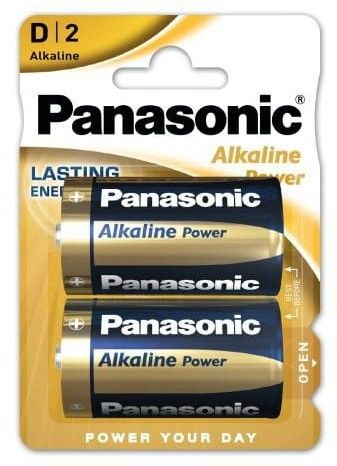 Baterie D / LR20 Panasonic Alkaline Power 2 sztuki