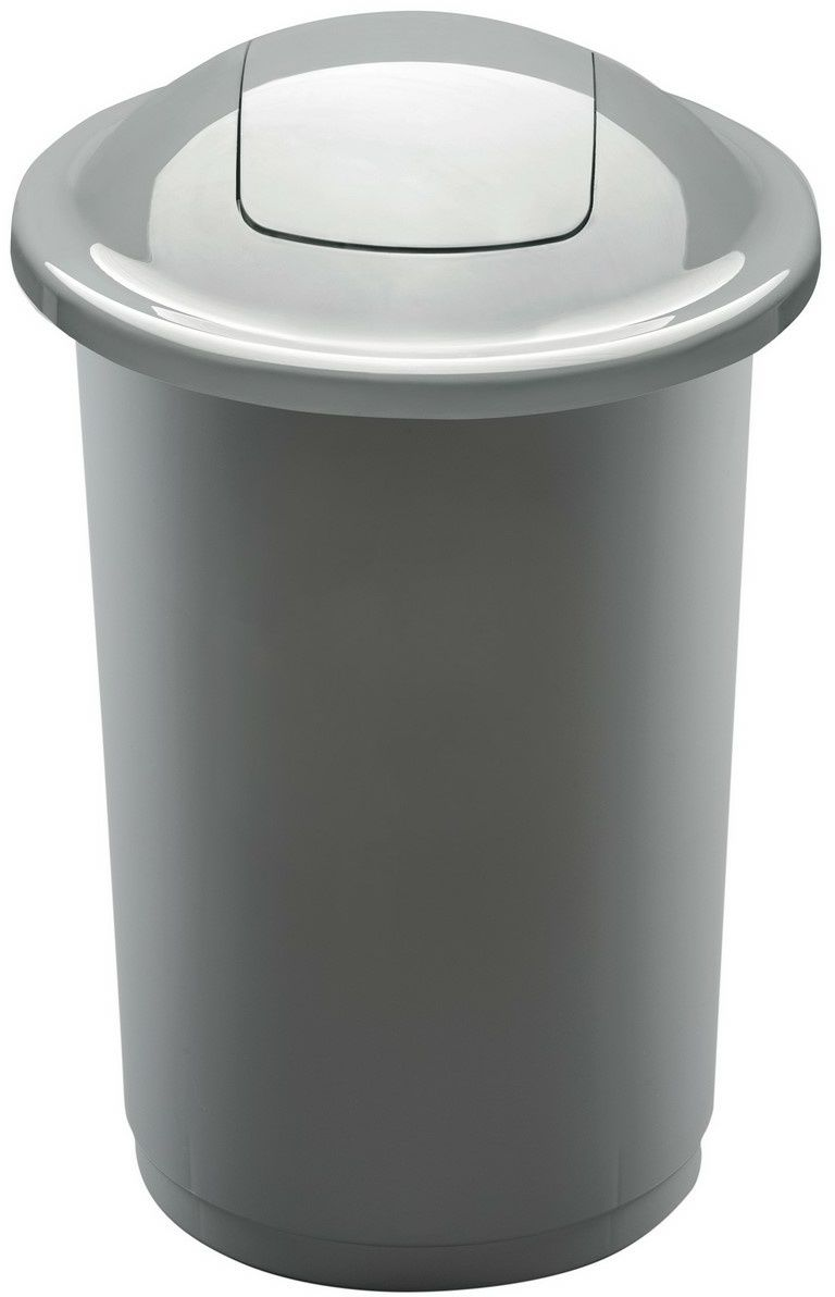 Aldo Kosz na śmieci na odpady segregowane Eco Bin 50 l, srebrny