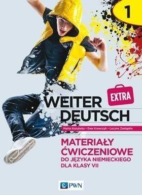 weiter Deutsch Extra 1 Materiały ćwiczeniowe do języka niemieckiego dla klasy 7 ZAKŁADKA DO KSIĄŻEK GRATIS DO KAŻDEGO ZAMÓWIENIA