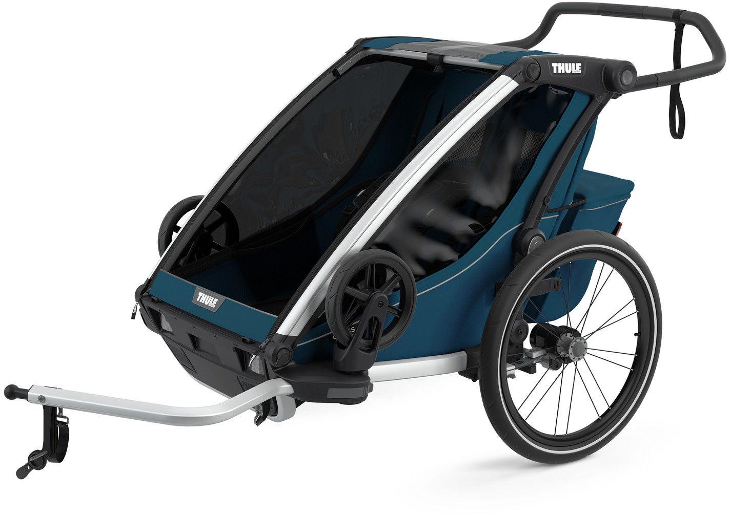 Thule Chariot Cross2 przyczepka rowerowa MajolicaBlue - ciemny ni