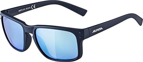 ALPINA Unisex - Dorośli, KOSMIC Okulary przeciwsłoneczne, nightblue matt, One Size