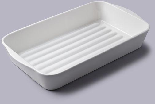 Porcelanowe naczynie do pieczeni 34 cm x 21 cm
