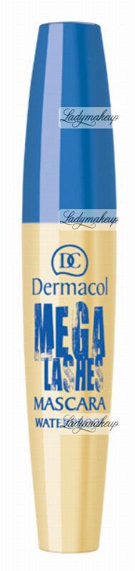 Dermacol - Mega Lashes Waterproof Mascara - Wodoodporny tusz do rzęs