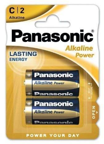 Baterie C / LR14 Panasonic Alkaline Power 2 sztuki