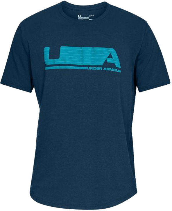Koszulka termoaktywna Under Armour Versa TEE Blue K/R (1322952-489)