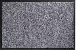 F & S Twist wysokiej jakości wycieraczka 60 x 90 cm szara - Made in Europe