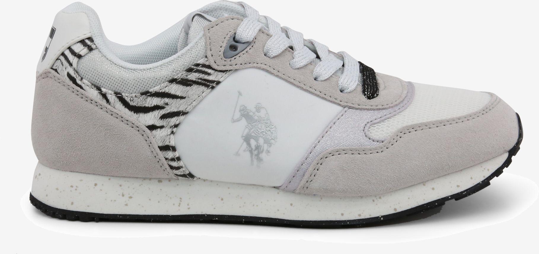 U.S. Polo Assn. Sneakersy Damskie FREE4030S8_LT1_WHI-ZEB 40
