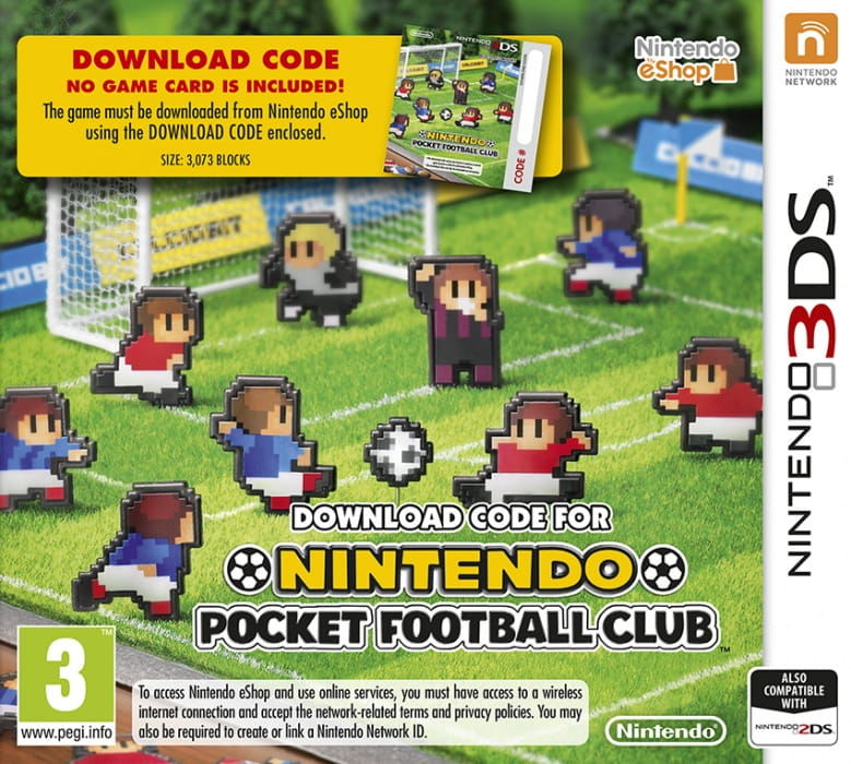 Gra Nintendo Pocket Football Club (3DS)