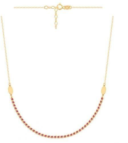 Złoty naszyjnik łańcuszkowy 51249