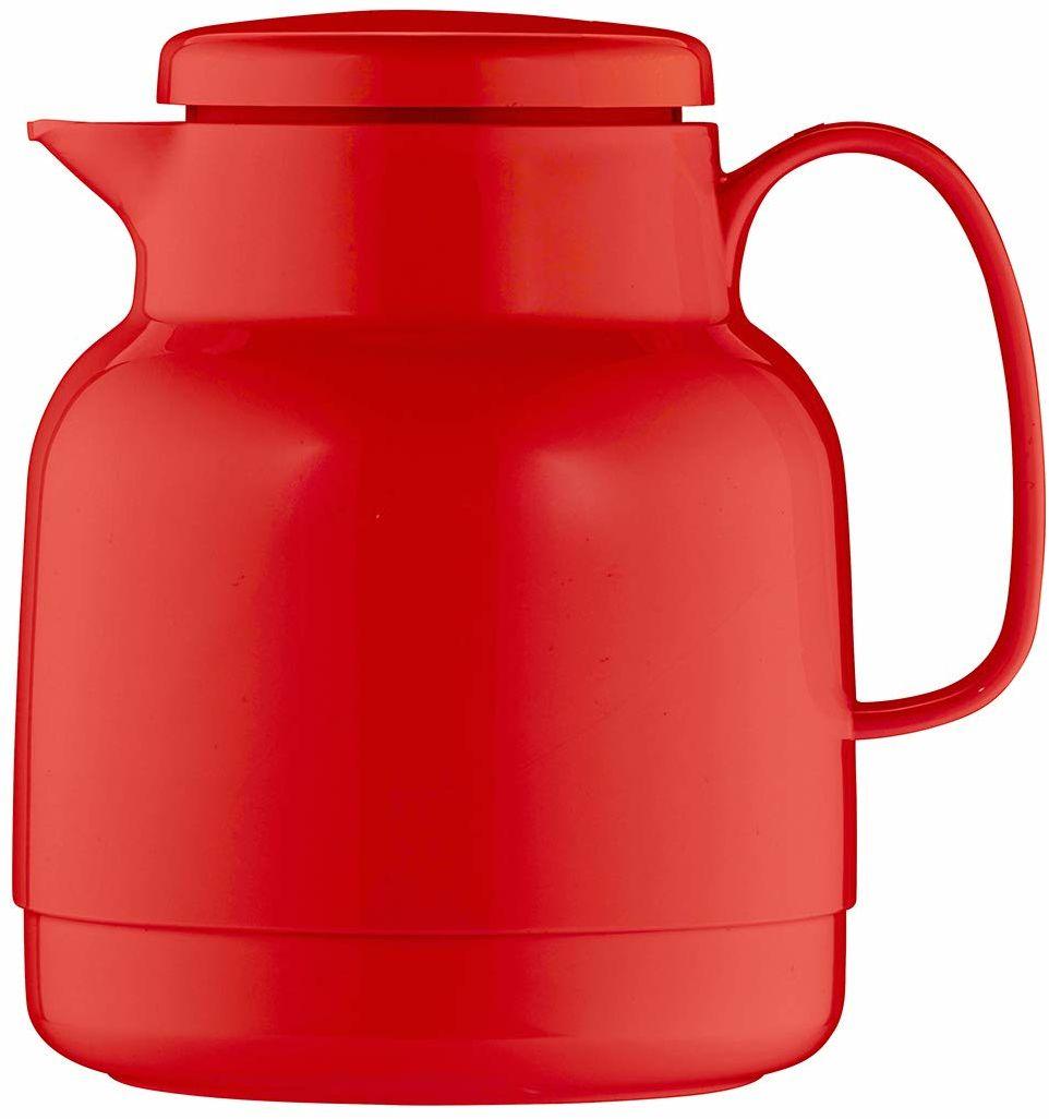 Helios Mondo termos z tworzywa sztucznego, czerwony, 1 litr