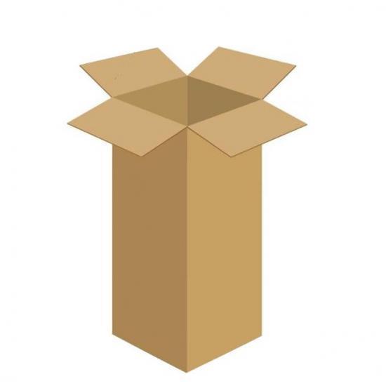 Karton klapowy tekt 3 - 100 x 100 x 750 460g/m2 fala C tuba