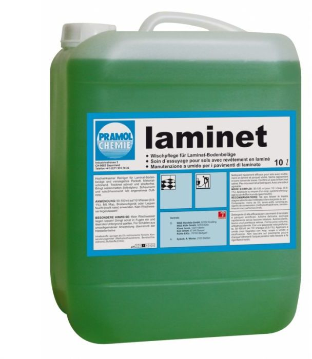 Laminet - Mycie paneli podłogowych bez smug
