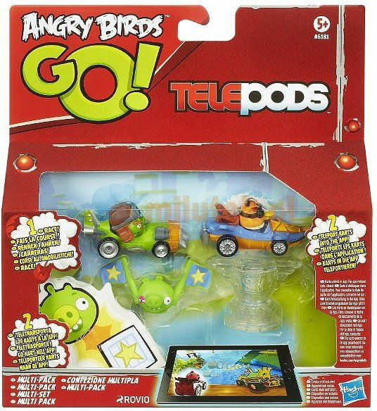 Hasbro Angry Birds Go - Telepods Multipack A6181