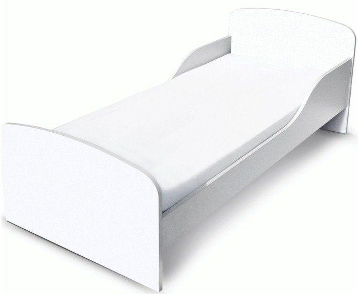 """""""Śnieżne łóżko dla dzieci"""" - drewniane"""