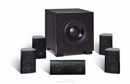 Quadral ALUMA 2200 System kolumn głośnikowych 5.1 CZARNY + UCHWYT i KABEL HDMI GRATIS !!! MOŻLIWOŚĆ NEGOCJACJI  Odbiór Salon WA-WA lub Kurier 24H. Zadzwoń i Zamów: 888-111-321 !!!