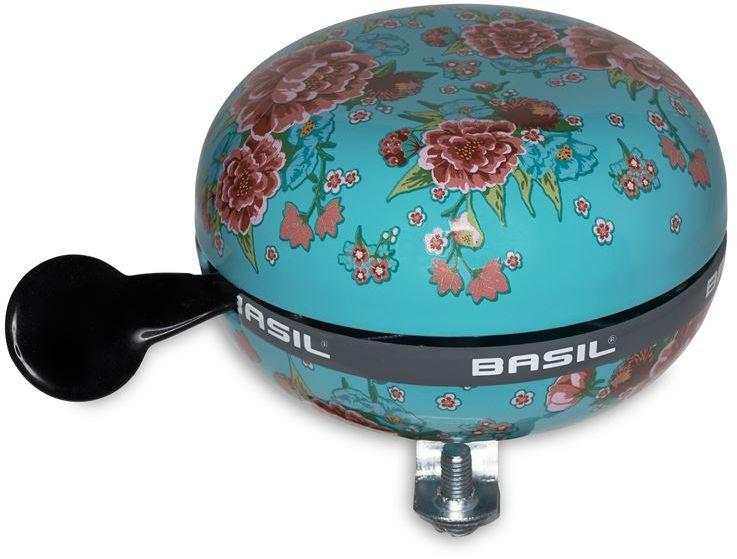Dzwonek rowerowy BASIL BIG BELL BLOOM 80mm, emerald green BAS-50395,8715019503955