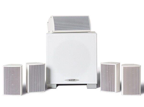 Quadral ALUMA 2200 System kolumn głośnikowych 5.1 BIAŁY + UCHWYT i KABEL HDMI GRATIS !!! MOŻLIWOŚĆ NEGOCJACJI  Odbiór Salon WA-WA lub Kurier 24H. Zadzwoń i Zamów: 888-111-321 !!!