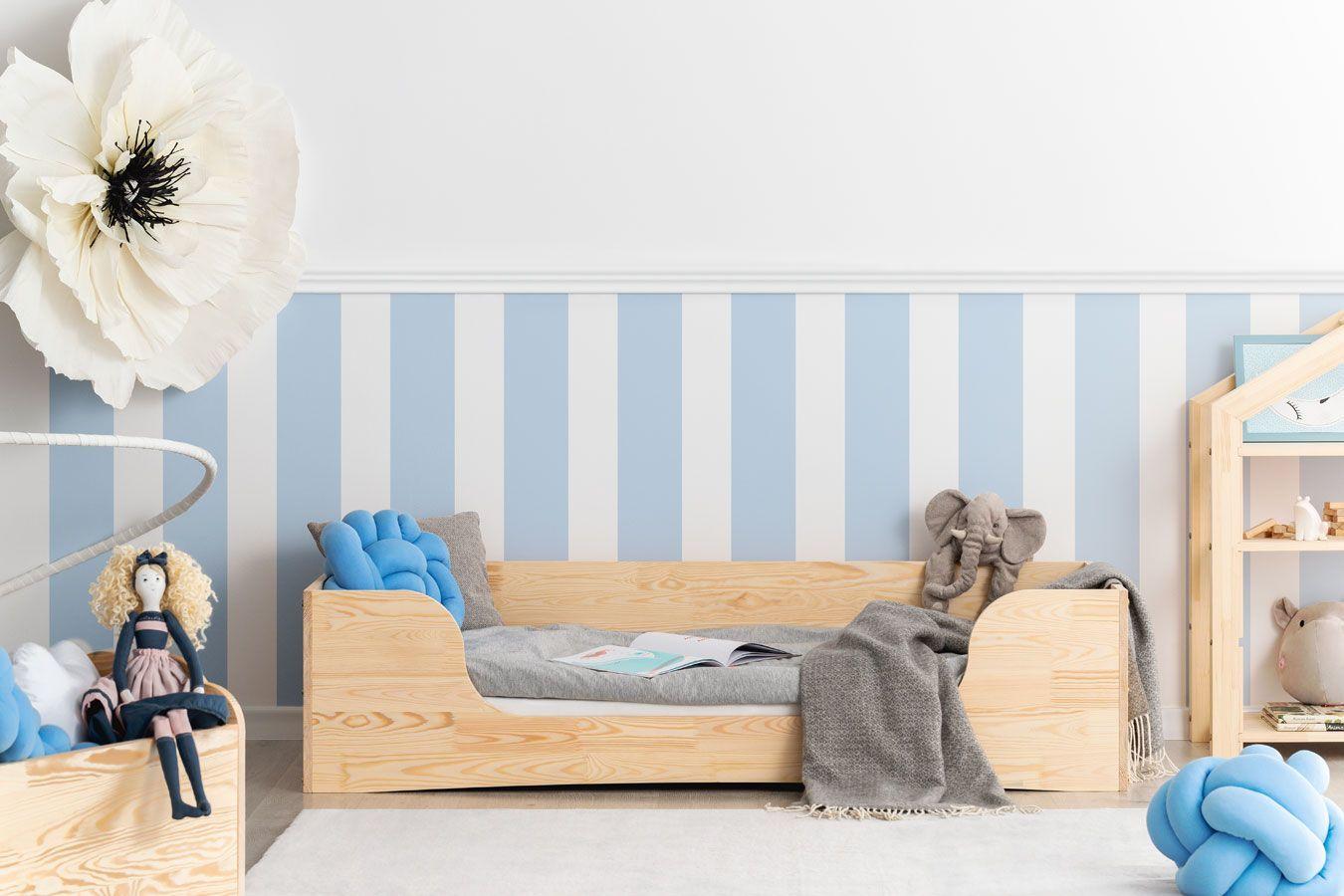 Drewniane łóżko młodzieżowe Abbie 6X- 21 rozmiarów