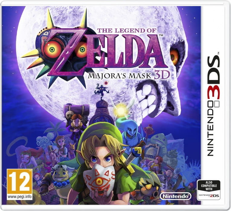 Gra The Legend of Zelda: Majora''s Mask 3D (3DS)