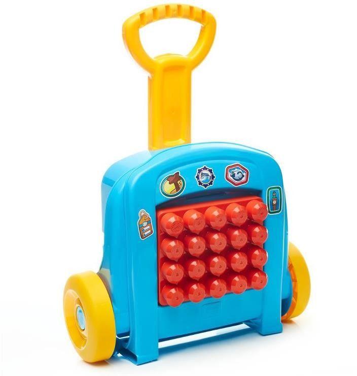 Mega Bloks - Mobilna walizeczka z klockami FLT37