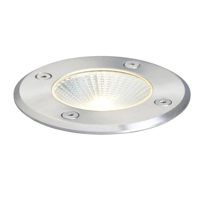 Lampa najazdowa RIZZ okrągła 230V / 350mA LED 3W 3000K IP65 R10376 Redlux  SPRAWDŹ RABATY  5-10-15-20 % w koszyku