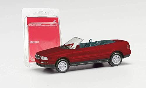 herpa - MiniKit: Audi 80 Cabrio, winna czerwień
