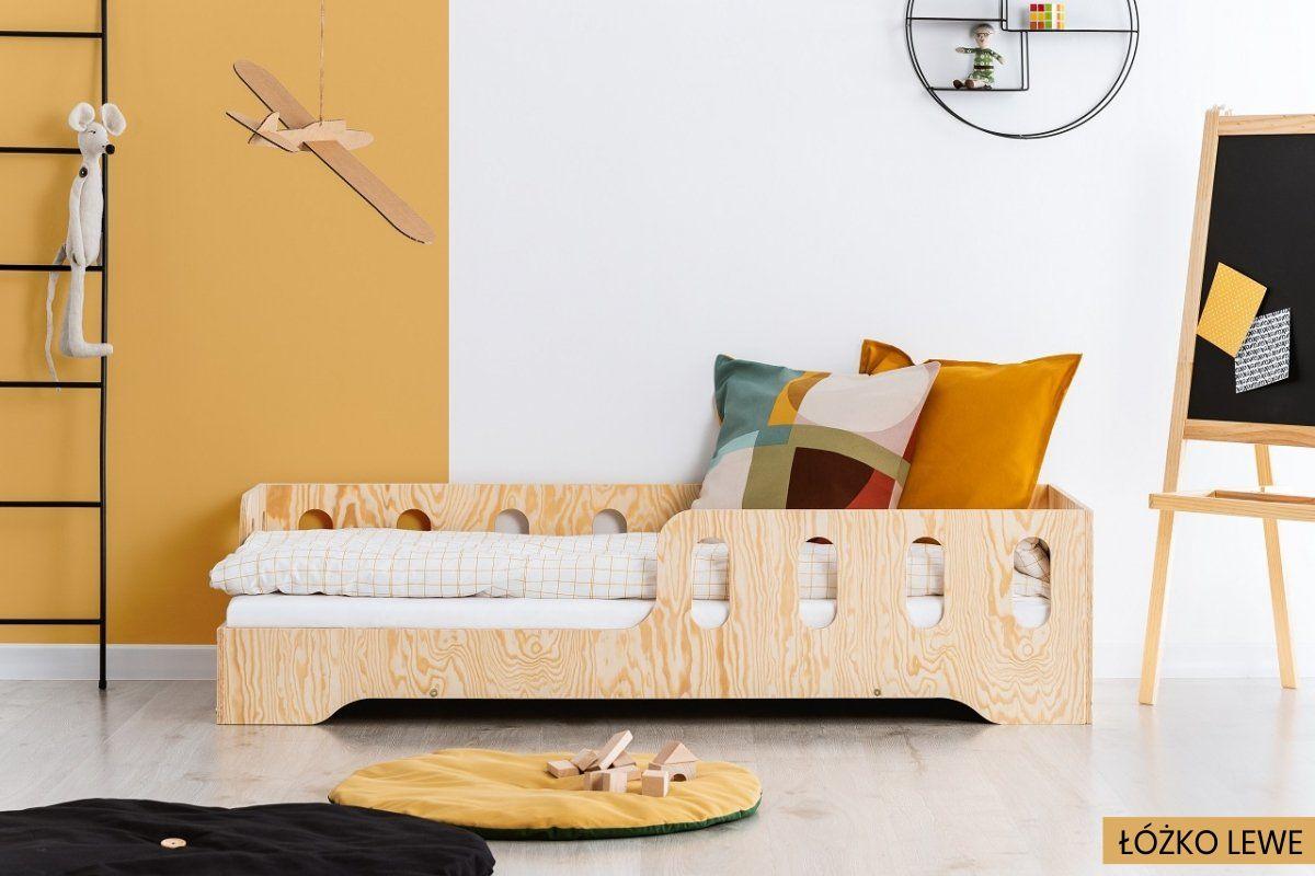 Łóżko dziecięce KIKI 1 80x180 sosna