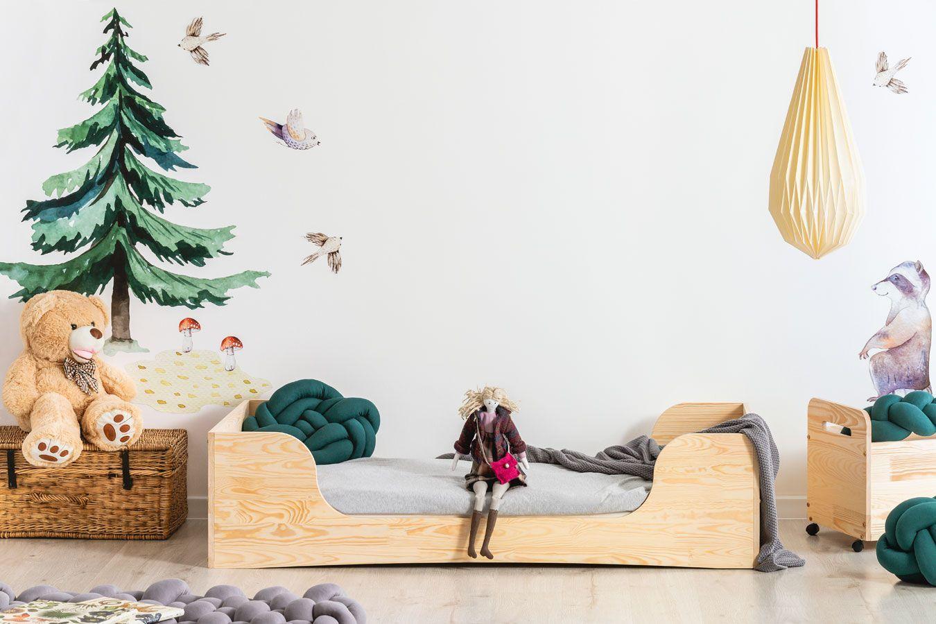 Drewniane łóżko młodzieżowe Abbie 7X- 21 rozmiarów