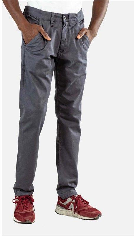spodnie REELL - Flex Tapered Chino Dark Grey (142)