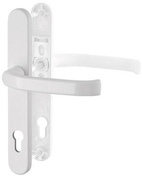 Klamka drzwiowa wewnętrzna DG58 na szyldzie 1/2 kpl - biel 210