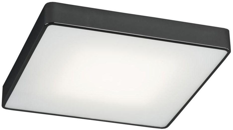 Plafon ONTARIO 25 cm czarny E27 PREZENT