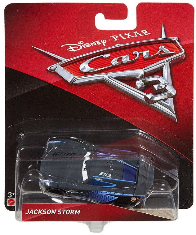 Mattel - Auta 3 Cars - Jackson Storm DXV34 DXV29