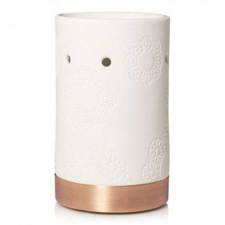 Addison Floral ceramic kominek do wosków Yankee Candle