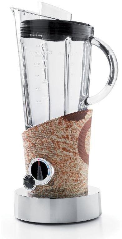 Casa bugatti - blender vela pokryty skórą - wzór gazeta