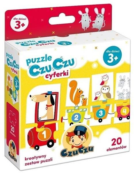 Puzzle CzuCzu cyferki - Bright Junior Media
