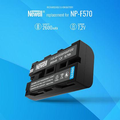 Akumulator Newell zamiennik Sony NP-F570