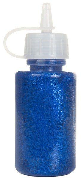 Klej z brokatem niebieski aplikator 40ml klej-8476