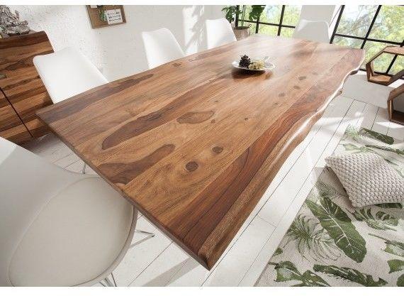 Stół drewniany Tatum 200 cm 40 mm Sheesham