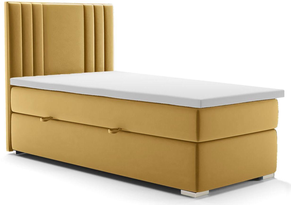 Pojedyncze łóżko hotelowe Felippe 90x200 - 58 kolorów