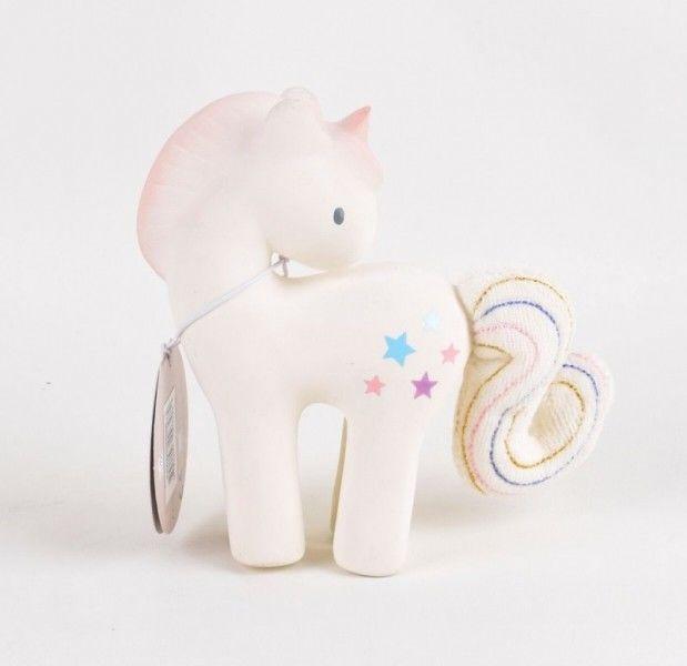 Tikiri - Gryzak z Grzechotką Jednorożec Candy