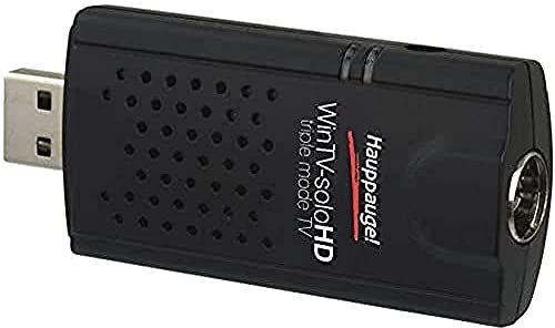 Hauppauge WinTV-soloHD 01589 - tuner telewizyjny USB - telewizja cyfrowa DVB-T2 HD, DVB-C HD, DVB-T do laptopa lub komputera