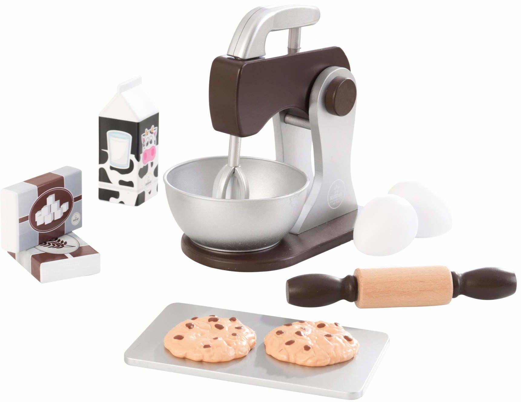 KidKraft 63370 zestaw do zabawy, do gotowania i pieczenia, farby do espresso